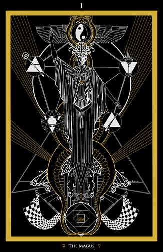 I - The Magus Tarot - Ina Auderieth
