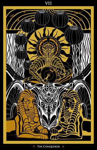 VII - The Conqueror Tarot - Ina Auderieth