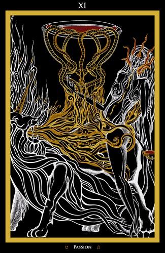 XI - Passion Tarot - Ina Auderieth
