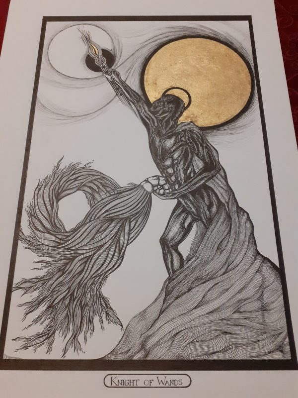 Knight of Wands/ Ritter der Stäbe Tarot