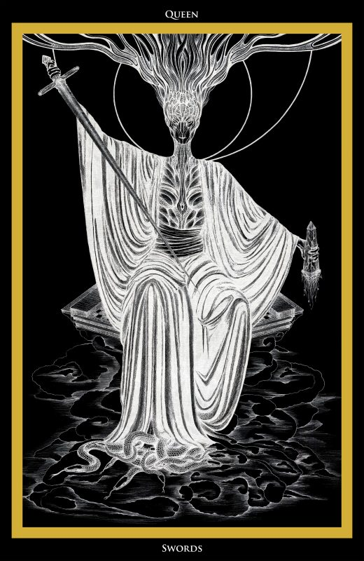 The Queen of Swords Tarot - Ina Auderieth