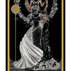 Princess of Wands / Prinzessin der Stäbe Tarot