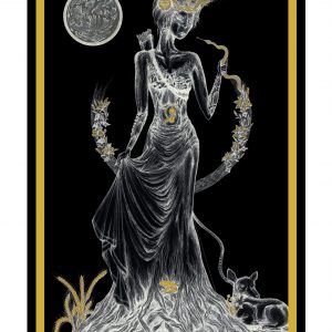 Princess of Disks / Prinzessin der Scheiben Tarot